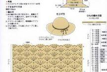 chrochet summer hat