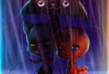 Miraculous; ladybug and catnoir