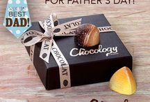 Dad / Dad's love chocolate to!