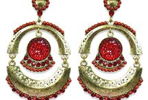 Ethnic Earrings By Via Mazzini / Explore the eclectic collection our our finely crafted handmade Indian Ethnic Traditional Earrings