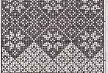 Mønster / Strikkemønster