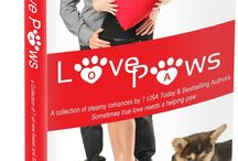 Love Paws:  Love Paws: A collection of steamy romances by 7 bestselling authors / What could make seven contemporary romance shorts by award-winning and best-selling authors even better? Add seven sweet, scene-stealing pets . . . and then make the whole project a benefit for animal rescue charities! This anthology releases April 1th, in celebration of Prevention of Cruelty to Animals Month.