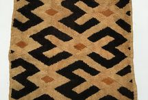 Kuba Cloth / Vintage African Kuba cloth from the Congo. All hand-made from raffia.