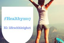 Healthy 2017 / In my quest to become more healthier in the new year, I've  created this board for motivation. #healthy2017