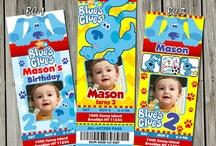 Blue's Clues theme bday