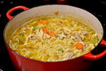 Soups / by Nikki Schultz