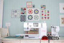 Sewing - Craft Rooms / Nähzimmer Ideen und Einrichtung