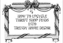 Thrifty shifty stuff / Things I get from thrift shops and upcycle / by Madi Sharp