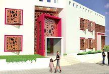 Kinder Garten in Qatar / Kinder Garten in Doha-Qatar by Ark-Kassam Architects