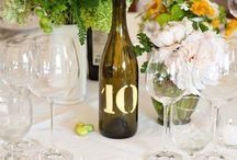 Wedding: Table Numbers & Escort Cards