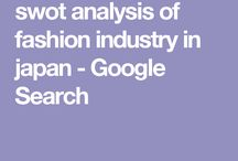 swot analysis of fashio industry in japan