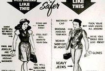 Dress code: Biking! / Accessori, vestiti, abbigliamento per ciclisti.