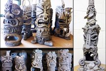 Clay Art / Clay sculptures for Elementary and Middle school