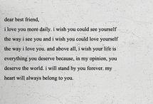 friendship / by Christine Florido