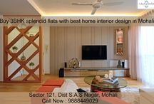 Buy 3BHK spacious flats with best interior design in Mohali / ATS #GolfMeadows has best premium design with #spacious interiors for sale in #Mohali.Call Now : 9888449029
