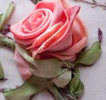 Embroidery in ribbons