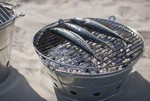 Summer BBQs / Stylish portable barbeques.