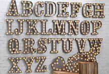 - light alphabet -