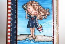Summer Fun / Cards and Gift Ideas using SugarPea Designs clear stamps.