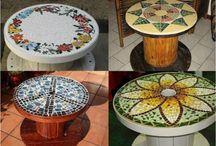 stoly z dreva