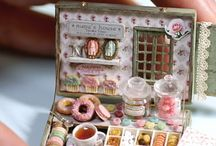 Miniature bridal shower gifts