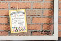 Baby Shower Invitations / Baby Shower Invitations - DIY Printable Invitations and Templates - Creative and Cute Baby Shower Invitations
