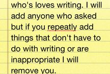 Everything about Writing / Every thing and anything about writing for anyone anywhere.