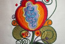 Fruit & Floral Embroidery Designs / Fruit & Floral embroidery designs for fashion and home decorating from kitchen to nature designs.