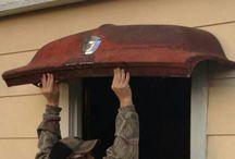 Car Bonnet roofs