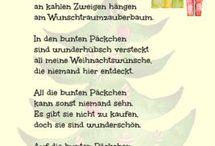 Weihnachtsgedicht für Kinder