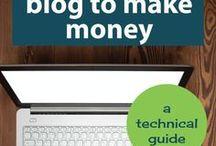 blogging & money