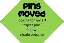 ART PINS MOVED. / i have relocated all of my art project pins to my new account. follow: nicole potsane / by pickel swimming
