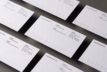 (D) business card -