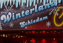 Winterland in Schiedam / Schaatsen, glijden, kermis, glühwein, haperijen