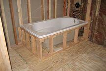 Master bathroom installation