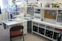Dream craft space / Great ideas to fashion a beautiful and practical space for crafting