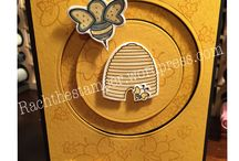 Spinner and Slider cards / Stampin Up Spinners and Sliders