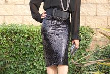 A little sparkle for the holiday's / Holiday Party look