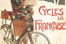 Vintage Bicycle Frame Advertising Signs