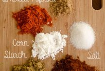Spice mixes / by Robin Goss