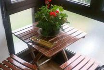 "Mi pequeña terraza, como la llamo yo ""Mi Rinconcito"""