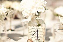 Table numbers Ideas