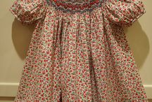 Finished Projects from Pink Hollybush / Finished sewn and smocked projects from Pink Hollybush Designs