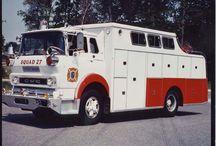 American Fire-Oldtime Fire Dept. Trucks / Oldtime american Fire Department Trucks.