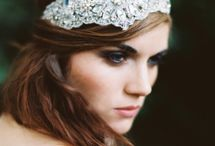 Bridal Head Pieces / Ideas of what to wear in your hair