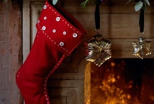 Christmas Stockings / Putting together ideas for our Christmas swap,