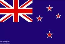 COUNTRIES ~ Oceania: New Zealand etc. ~ Oseania: Uusi-Seelanti jne.