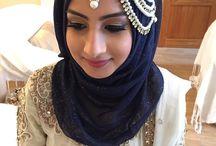 Bridal hijabs