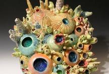 Coral reef in art