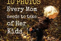 Kids Photography ideas guide / Be your own family professional photographer :)